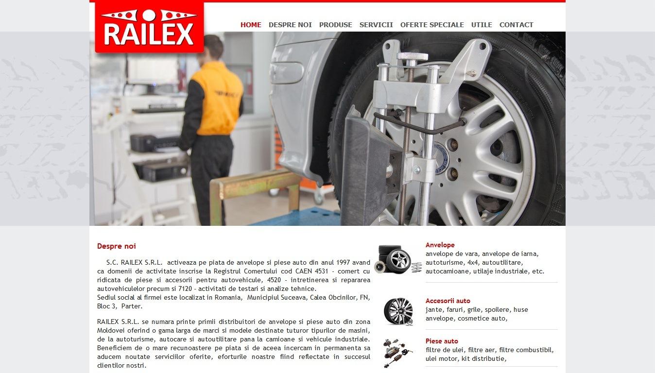 www.Railex.ro – anvelope si service auto